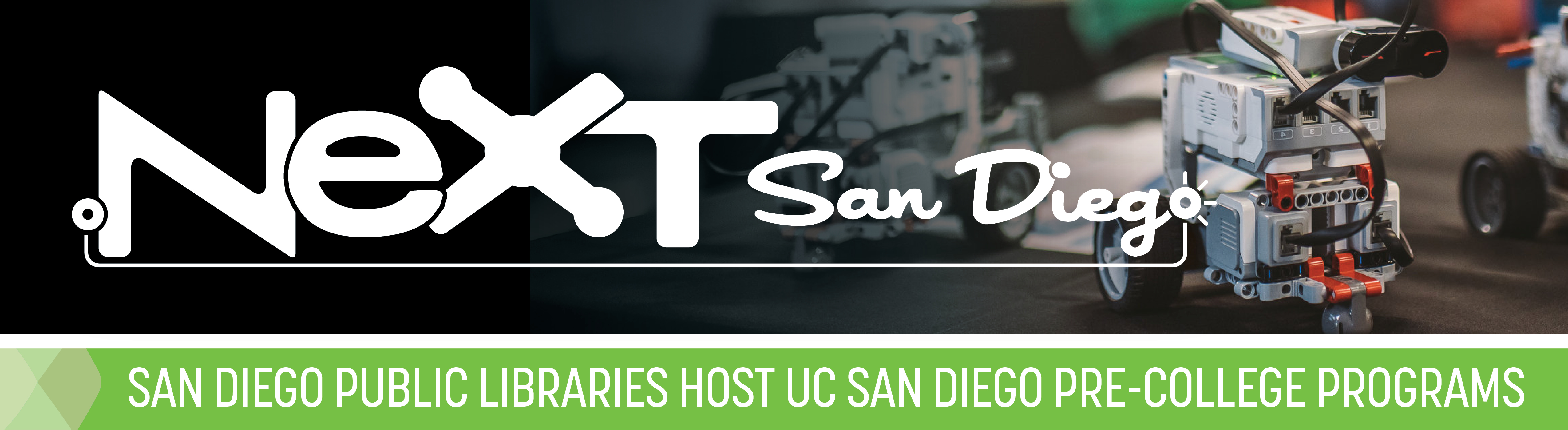 UC San Diego Extension and the San Diego Public Library present NeXT