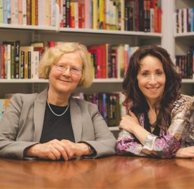 Elizabeth Blackburn (left) and Elissa Epel