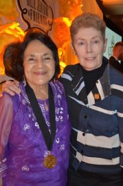 Labor leader Dolores Huerta and Sally Ride Science cofounder Tam O