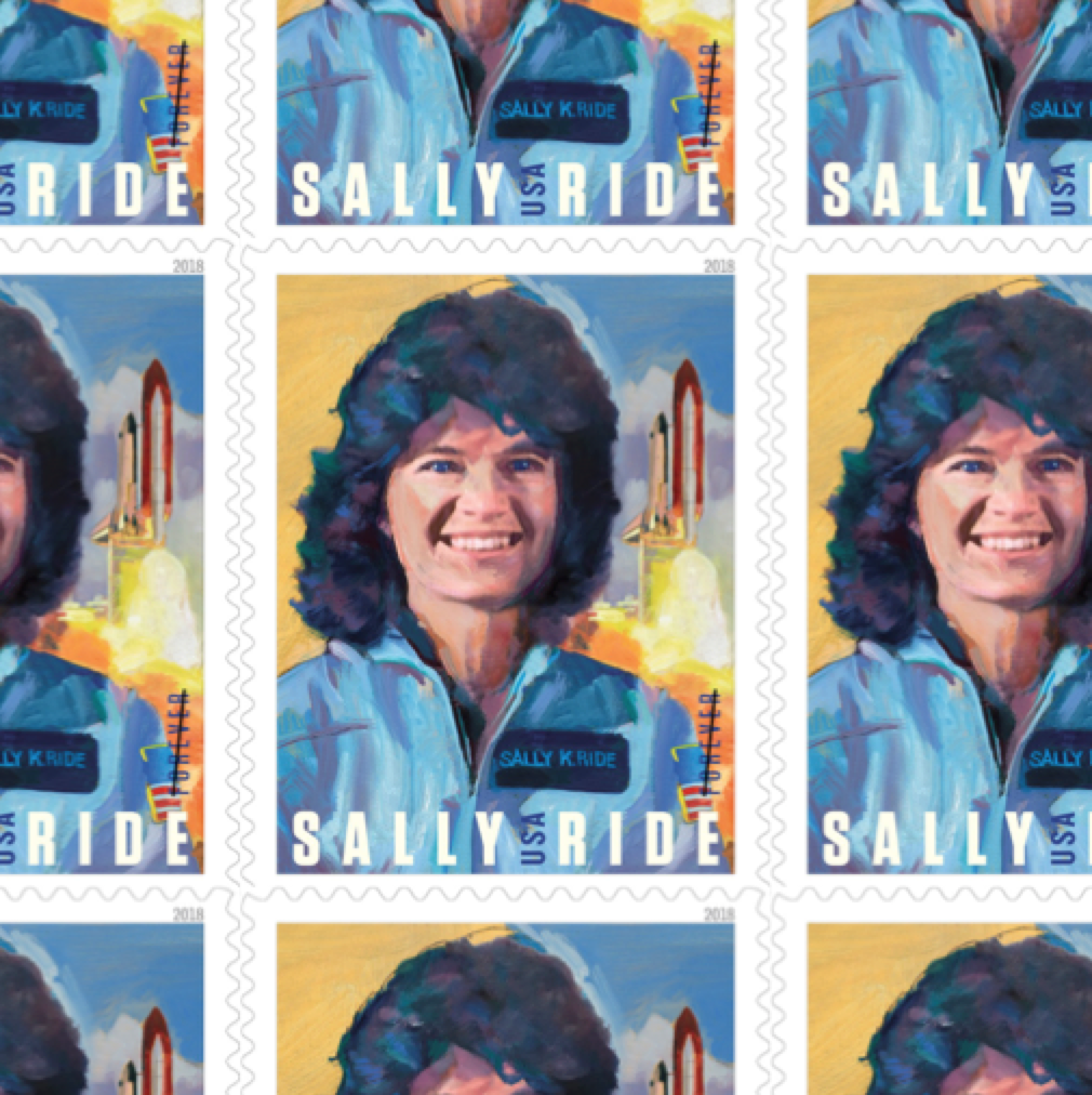 Sally Ride stamps
