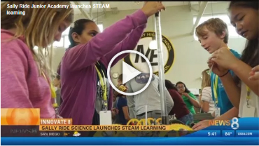 Sally Ride Science Junior Academy on CBS