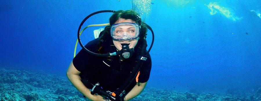 Cynthia Matzke diving