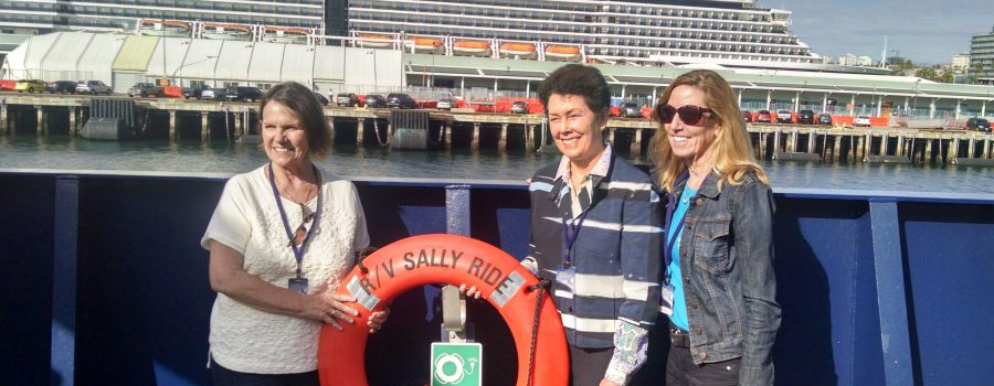 R/V Sally Ride commissioning