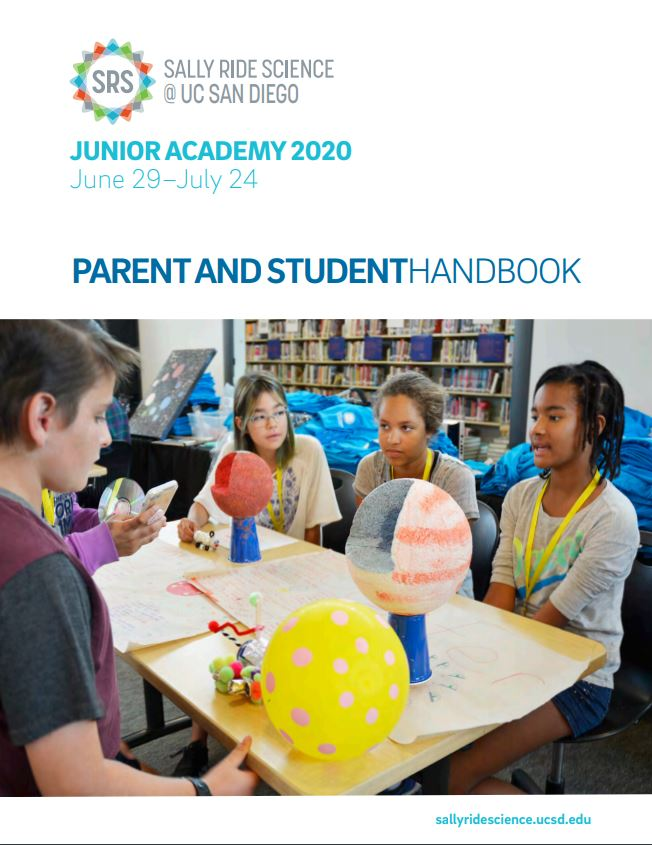 Junior academy parent student handbook