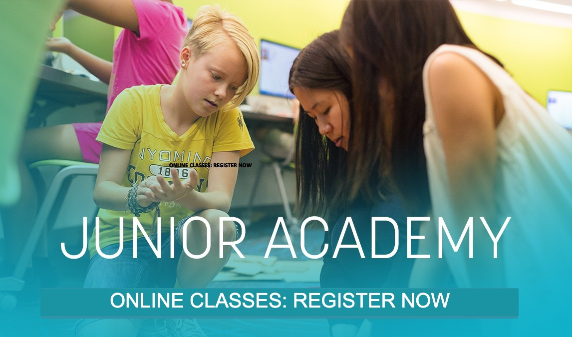 Junior Academy - Summer STEAM workshops for grades 4th - 12th