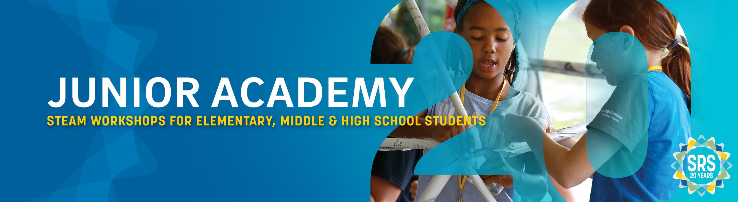 Steam summer workshops for elementary, middle & high school